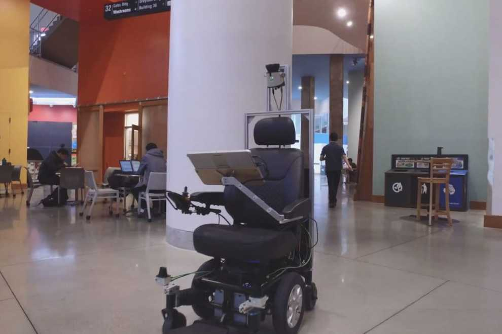 Self-driving wheelchairs?