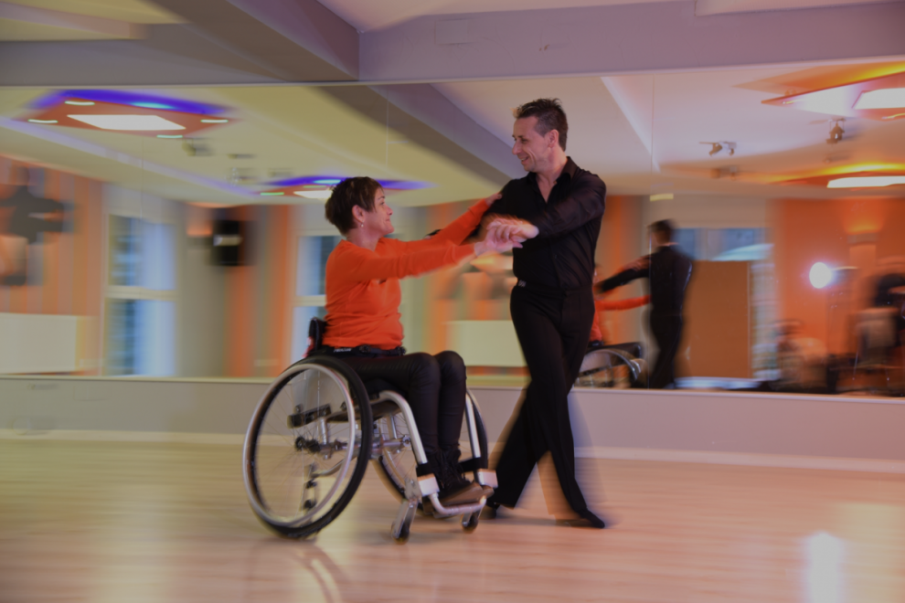 Dancing in the wheelchair? Yes for sure!