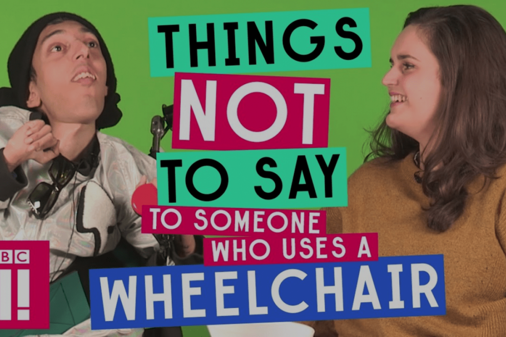 Things you should not say to wheelchair users