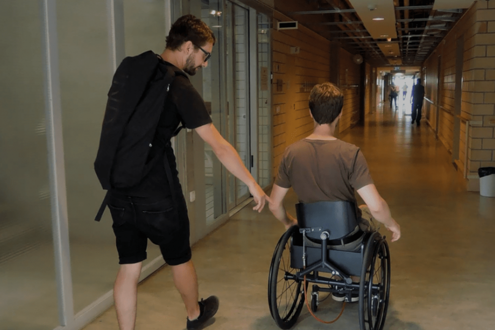 Reto, the Wheelchair Designer (Part 2)