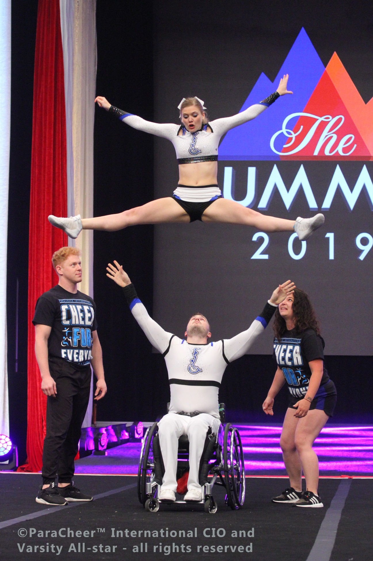 wheelchair partner stunt