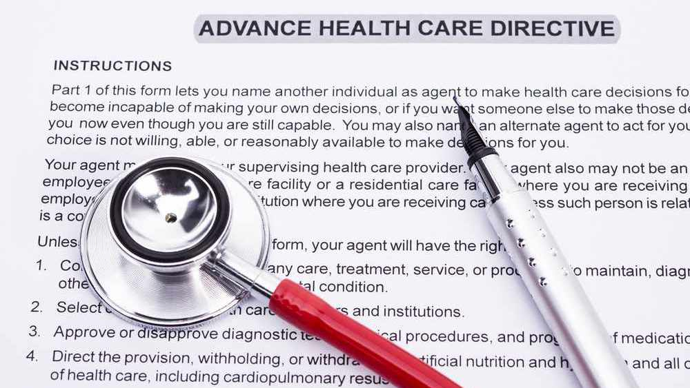 Patient's Right: advance healthcare directive