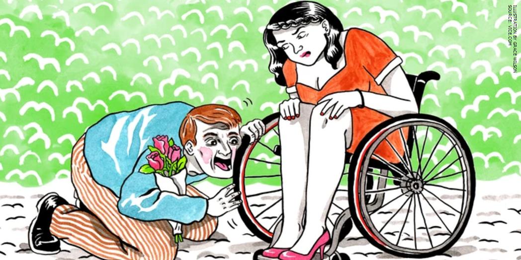 Wheelchair devotee stories