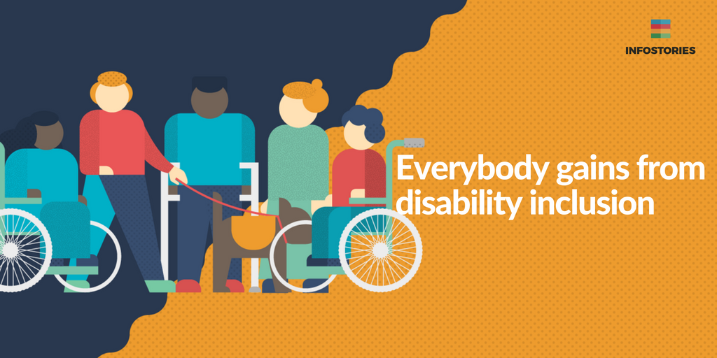 Everybody gains from disability inclusion.