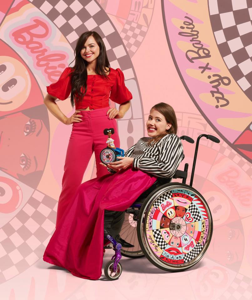 Barbie x Izzy Wheels